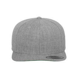 Flexfit Snapback besticken lassen heather